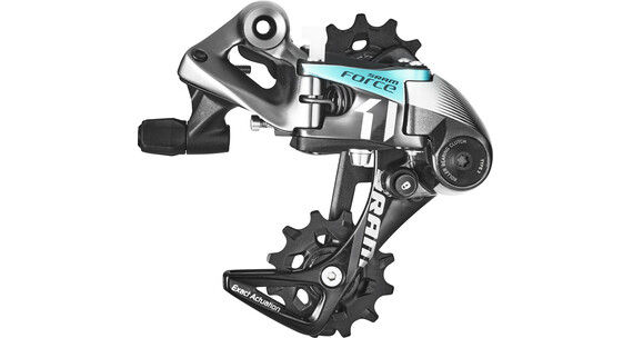 SRAM Force1 Type 3.0 Gear 11-speed mellemlang sort